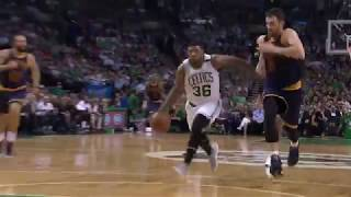 Marcus Smart Steal And Score AND1 vs Cavs - Game 1 - ECF