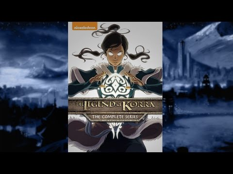 Legend of Korra DVD Collection Review