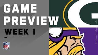 Green Bay Packers vs. Minnesota Vikings Week 1 NFL Game Preview