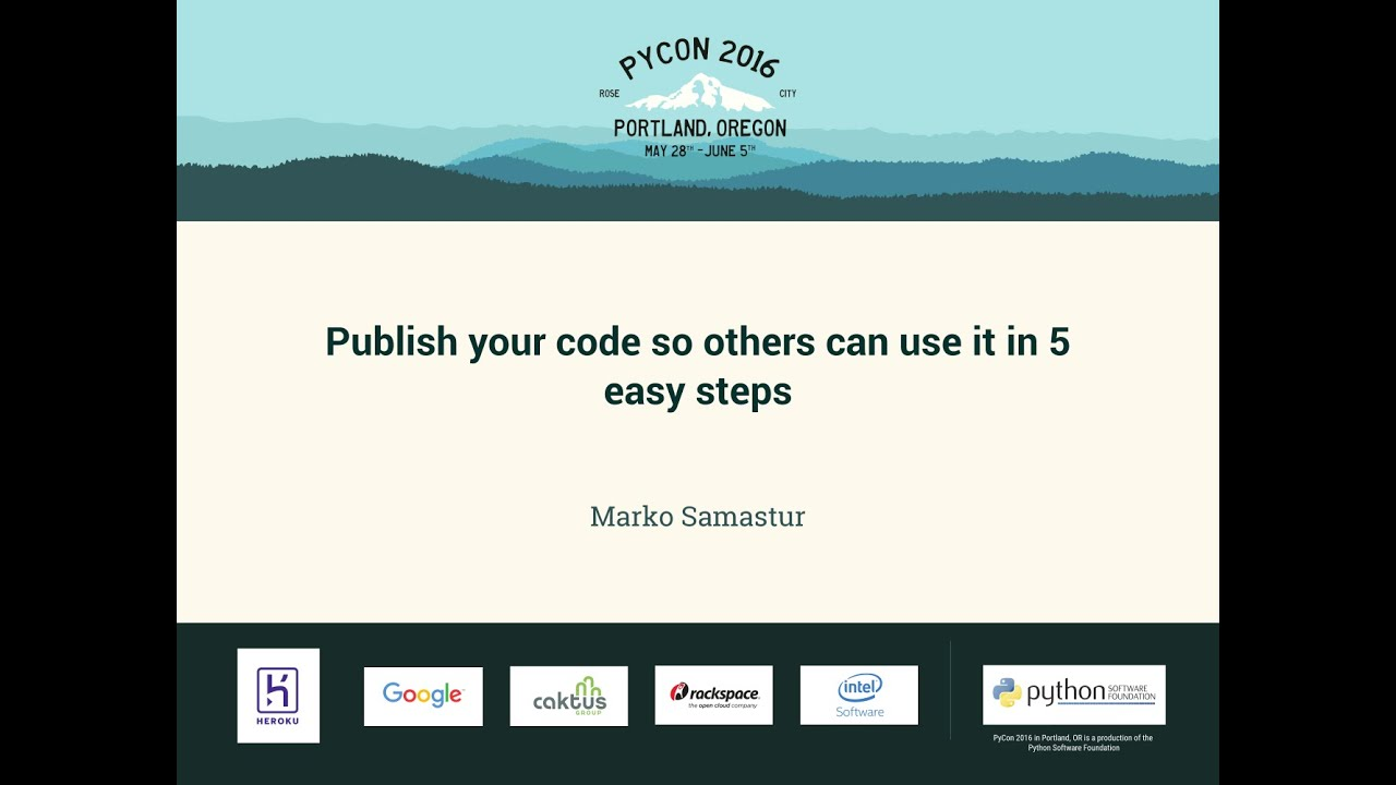 Image from Publish your code so others can use it in 5 easy steps
