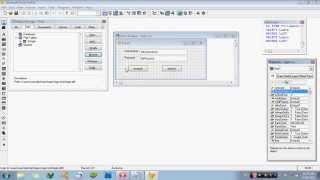 Membuat Form Login Foxpro 9.0