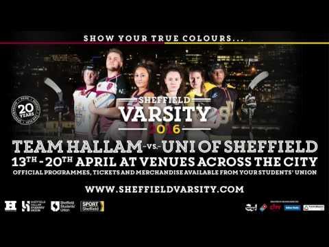 Sheffield Varsity 2016 Basketball