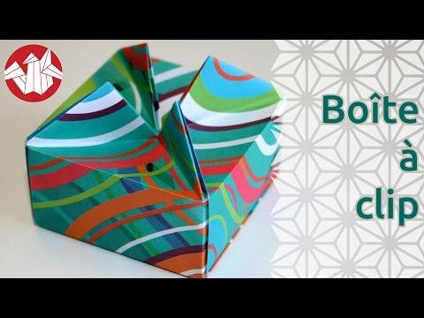 Origami - Boîte à clip - Resealable box [Senbazuru]