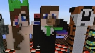 Repeat youtube video Minecraft - New Years Came Early!  (Crewniverse Creative Server Tour #5)