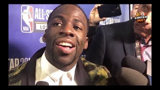 Draymond Green on his reaction during Fergie's National Anthem, new All Star format & more by : Swish Daily