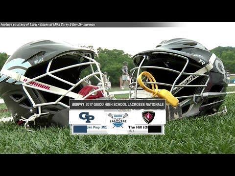 National High School Championship Highlights: Georgetown Prep (MDd.) vs. Hill Academy (Ont.)