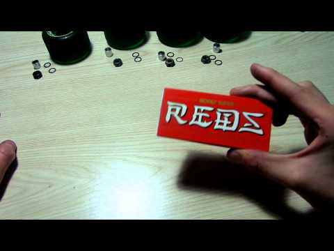 Bones Super Reds Skate Bearing Unboxing