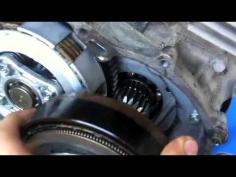 How to install an electric starter motor to an atv part 1 for How to wire a motor starter