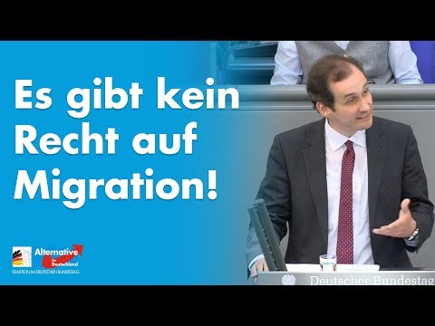 Es gibt kein Recht auf Migration! - Norbert Kleinwächter - AfD-Fraktion im Bundestag