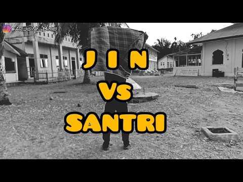 JIN VS SANTRI DI BULAN RAMADHAN (sketsa Comedy)