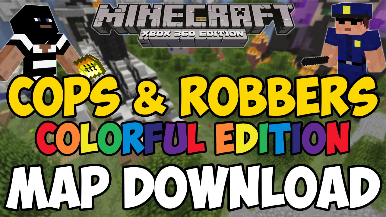 cops and robbers minecraft map download