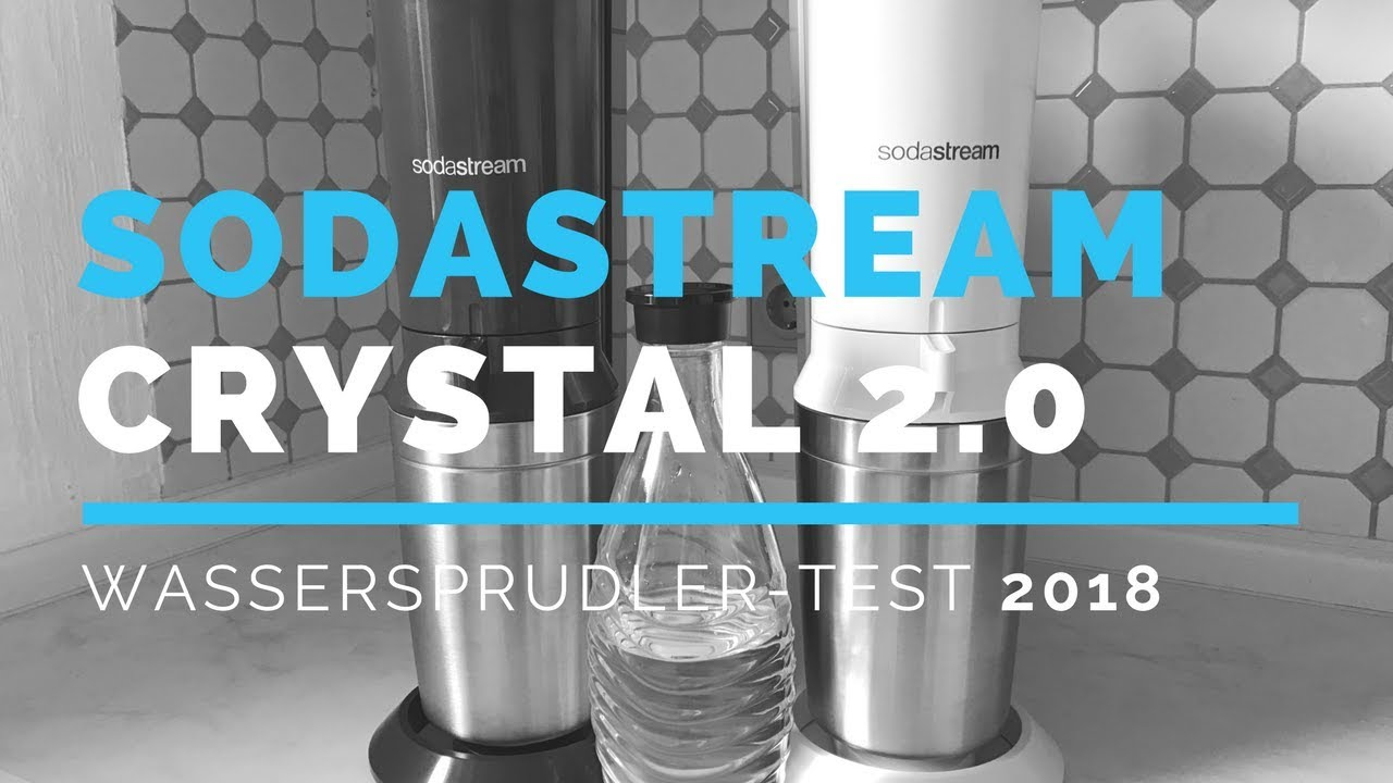 sodastream crystal 2 0 testbericht 2018 wassersprudler. Black Bedroom Furniture Sets. Home Design Ideas