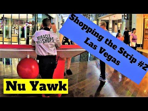Las Vegas video tour Shopping on the Strip #2