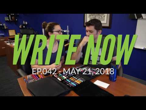 Write Now - Ep.042: Raiding Rachel's Pen Collection!