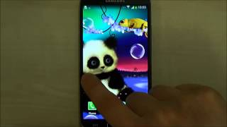 Animated Panda Live Wallpaper for Android screenshot 4