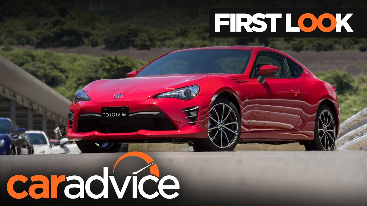 2017 toyota 86 first look review caradvice com