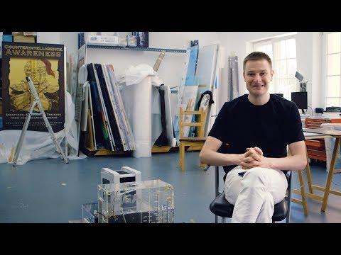 Studio Visit: Simon Denny