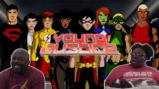 Young Justice 1x26 REACTION!! {Auld Acquaintance}