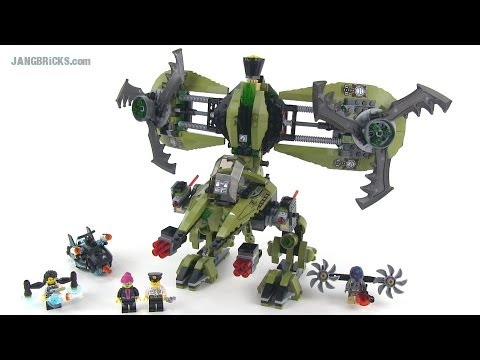 LEGO Ultra Agents 70164 Hurricane Heist reviewed Summer