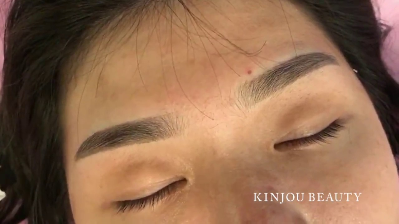 Soft Tap Microblading By Gloria Tseng Youtube