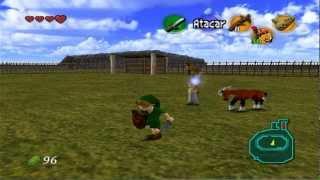 Playthrough: Zelda - Ocarina Of Time - Quero o cavalo ;-; #8