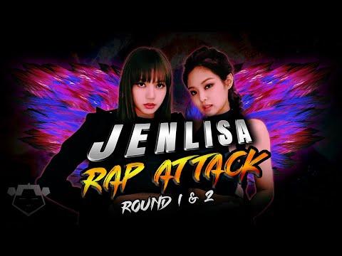 BLACKPINK - 'JENLISA RAP ATTACK' (Round 1 & 2) Jennie & Lisa Mashup