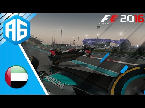F1 2016 #106 CARREIRA - GP DE ABU DHABI - FOI UM ACIDENTE FATAL? (Português-BR)