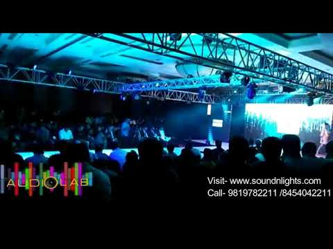 Tech Fashion Tour 4.0 Mumbai -Audio Lab Sound Lights Truss Rental Company