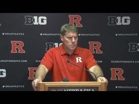 RVisionRU: Coach Chris Ash Post Game Press Conference - Nebraska