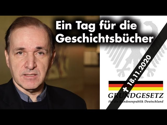 Fraktionsstatement: Demokratie in Gefahr! Werden heute unsere Grundrechte beerdigt?