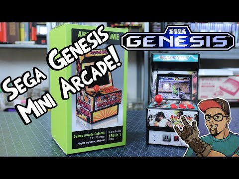 sega-genesis-mini-arcade!-review-&-giveaway!-you-can-win-this!