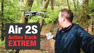 DJI AIR 2S - Active Track 4.0 TEST EXTREM - APAS 4.0 DEUTSCH 4K