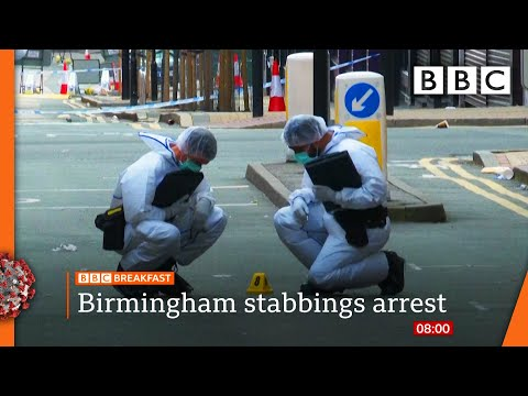 Man arrested over Birmingham stabbings - Watch @BBC News live on iPlayer - BBC