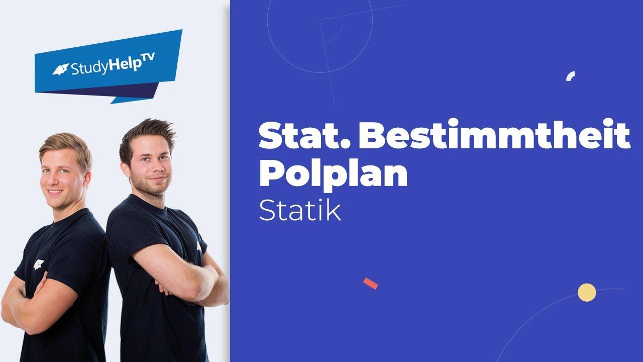 Statische bestimmtheit polplan technische mechanik 1 for Statische bestimmtheit berechnen