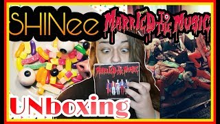 """UNBOXING SHINee """"Married To The Music"""" ALBUM"""