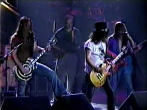 Slash and Zakk Wylde guitar duel/duet