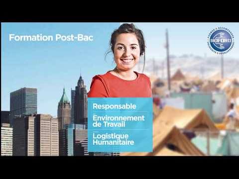 Webinar Formation humanitaire Post-Bac Bioforce