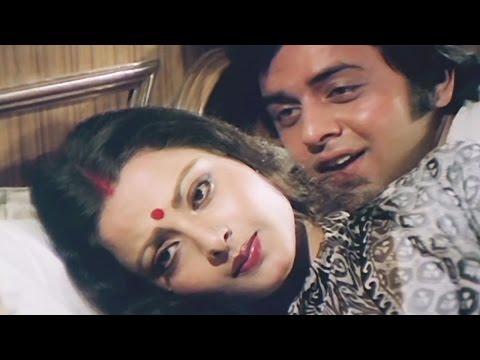 Rekha Vinod Mehra Superhit Romantic Song फिर वही रात है, फिर वही रात है ख्वाब की Movie - Ghar