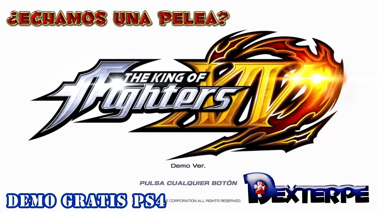 The King Of Fighters Xiv Ps4 Echamos Una Pelea Demo Gratis