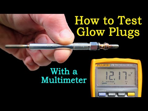 How to Test Glow Plugs From Start to Finish (With a Multimeter) - The Complete Guide