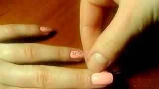 Маникюр... роспись иголкой(Рисуем на ногтях с помощью иголки. Важно: -рисуем быстро, что бы лак не успел высохнуть -слой лака должен..., 2016-02-29T22:58:40.000Z)