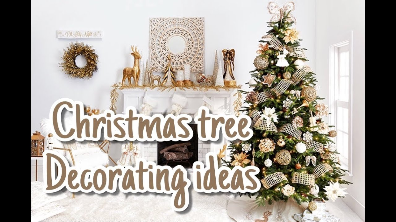 🎄 CHRISTMAS TREE DECORATION IDEAS 2018 ♡ THE BUSY MOM 🎀 - YouTube
