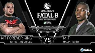 Mortal Kombat X Fatal 8 Forever King (Kung Jin) {Bojutsu} Vs MIT (Scorpion) {Ninjutsu} MKX