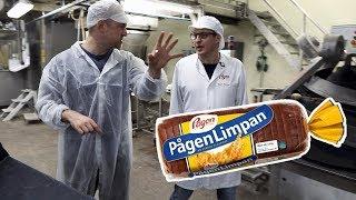 Så bakas PågenLimpan - besök i Pågens bageri