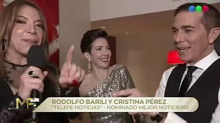 ¡rodolfo Barili Y Cristina Pérez Comparten Habitación Y Cama! - Martín Fierro 2019