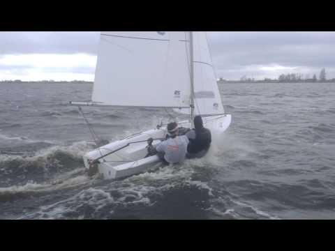 Vaurien 36337 In Plane Op Het Sneekermeer