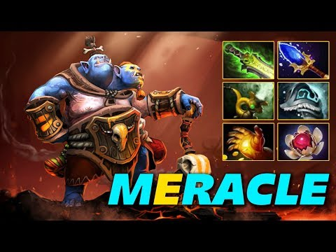 MERACLE OGRE MAGI - HARDCORE CARRY - Dota 2 Pro Gameplay