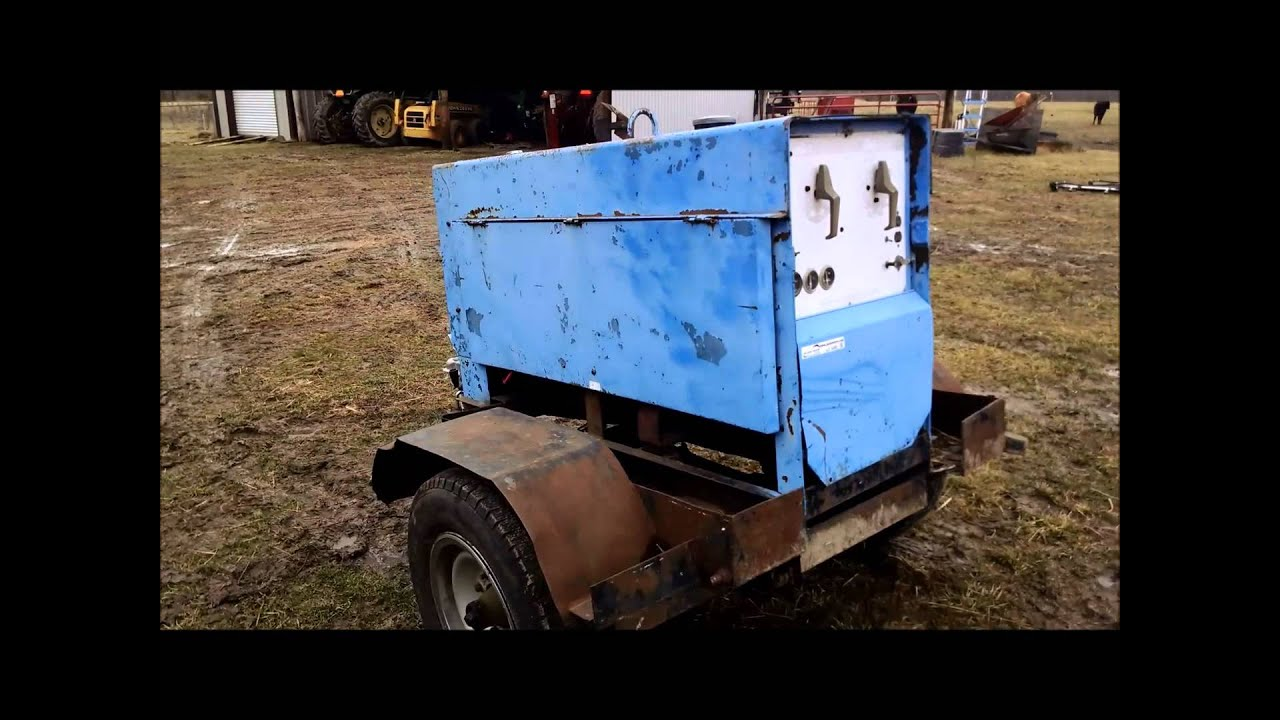 Miller Big 40 Welder  Generator For Sale