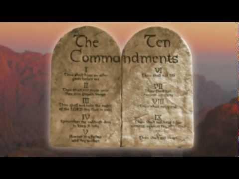 The Ten Commandments BUDDY DAVIS Music Video