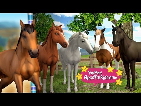 Show Jumping 🐎 Horse World Game 🐴 Top Best Apps For Kids